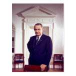Lyndon B Johnson Post Card