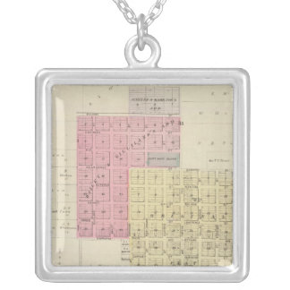 Lyndon, Osage County, Kansas Silver Plated Necklace