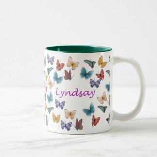 Lyndsay Two-Tone Coffee Mug