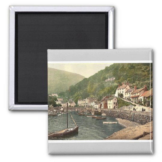 Lynmouth Harbour, Lynton and Lynmouth, England Magnet