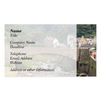 Lynmouth in Devon, England. Business Cards