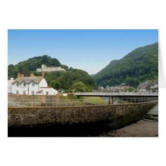 Lynmouth in Devon, England. Card