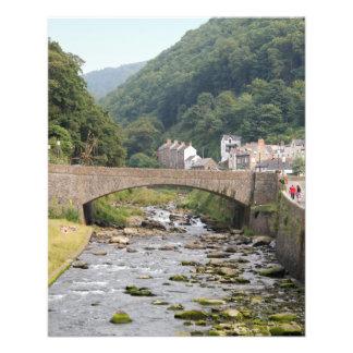 Lynmouth in Devon England Flyer
