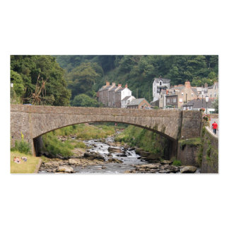Lynmouth in Devon, England. Pack Of Standard Business Cards