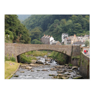 Lynmouth in Devon England Post Cards