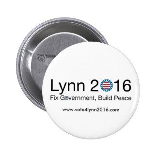 Lynn 2016 6 cm round badge