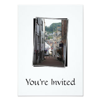 Lynton, Devon, England. 13 Cm X 18 Cm Invitation Card