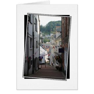 Lynton, Devon, England. Card