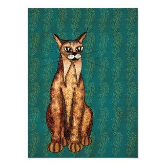 Lynx 14 Cm X 19 Cm Invitation Card