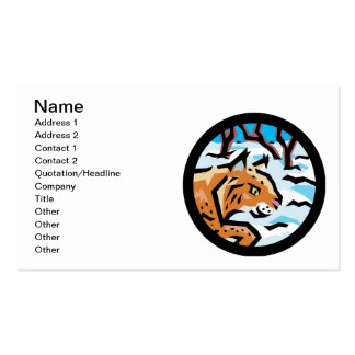 Lynx Double-Sided Standard Business Cards (Pack Of 100)