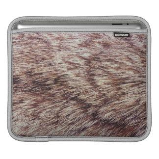 Lynx fur iPad sleeve