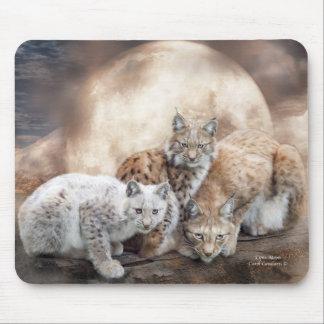 Lynx Moon Art Mousepad