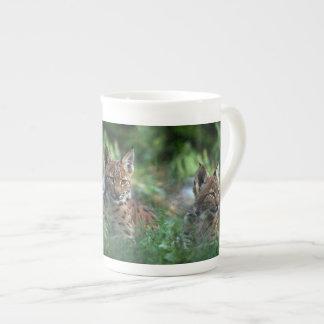 Lynx Bone China Mug