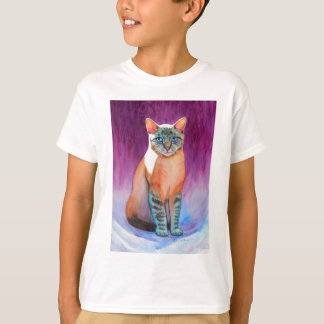Lynx Point Siamese Cat at Kitty Angels Tee Shirts