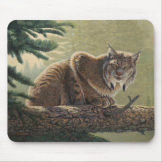 "Lynx ""Solitary Moment"" - Mouse Mat"