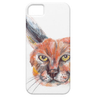 Lynxs drawing iPhone SE + iPhone 5/5S iPhone 5 Cases