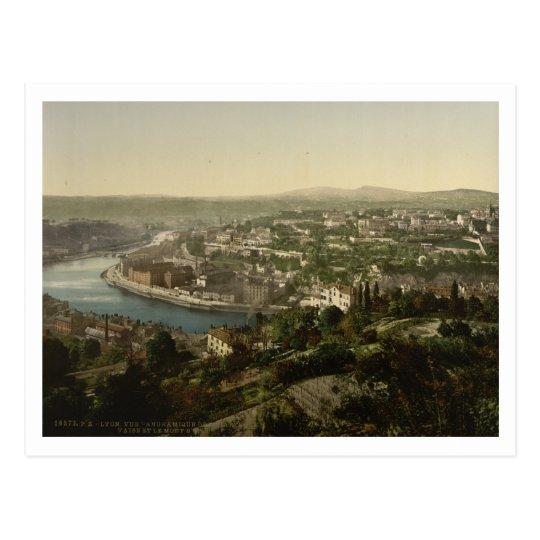 Lyon Cityview, France Postcard