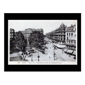 Lyon, France 1910 Vintage Postcard