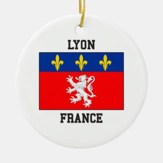 Lyon France Christmas Ornament