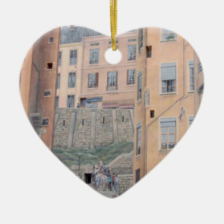 Lyon, France - Christmas Tree Ornament