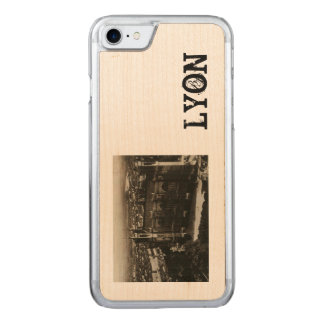 Lyon France Postcard Basilica of Fourviere Carved iPhone 8/7 Case
