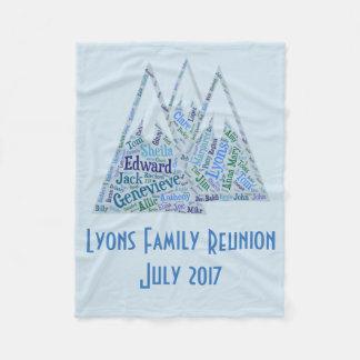 Lyons Family Reunion Blanket
