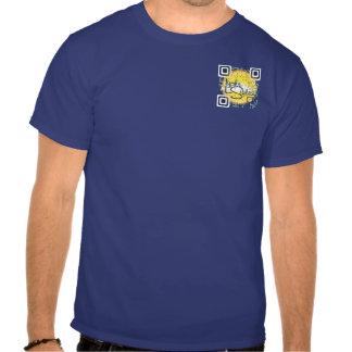 LypheStyles QR Code Logo Mens Color T-Shirt
