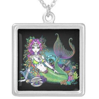 """Lyra"" Tropical Mermaid Siren Necklace"