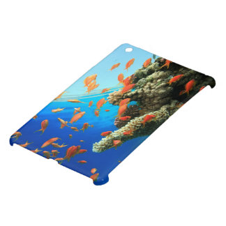 Lyretail anthias on coral reef case for the iPad mini