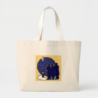 Lyric Victorian Carolers tote bag
