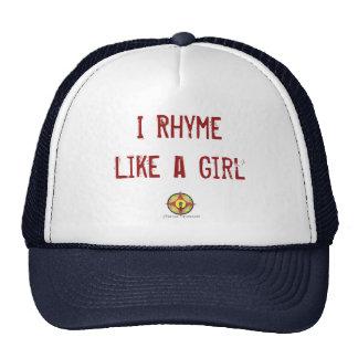Lyrical ambassador trucker hats