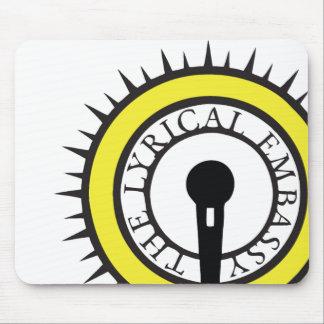 Lyrical ambassador mouse pad