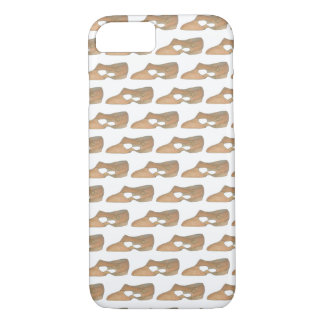Lyrical Tan Modern Dance Teacher Shoe Print iPhone 8/7 Case