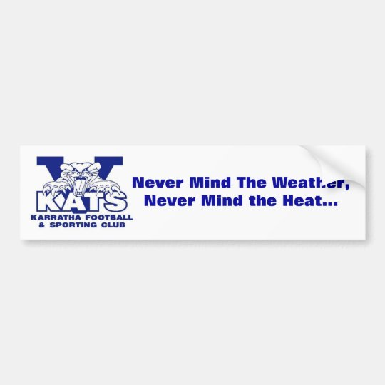 Lyrics Bumper Sticker