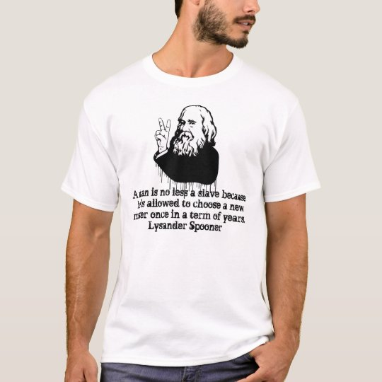 Lysander Spooner A man with a elected master