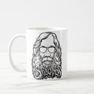Lysander Spooner Beard And Shades Mug