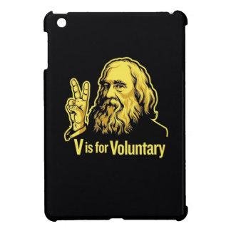 Lysandor Spooner Peace Sign iPad Mini Case