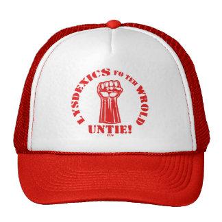 Lysdexics fo teh Wrold Trucker Hats