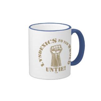 Lysdexics fo teh Wrold Mug