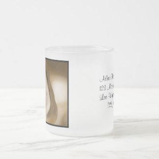 Lyssa Frosted Glass Mug