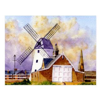 Lytham Windmill Postcard