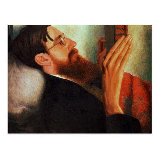 Lytton Strachey,  1916 Postcard
