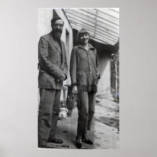 Lytton Strachey and Iris Tree Poster