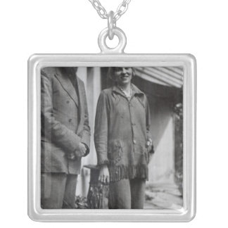 Lytton Strachey and Iris Tree Silver Plated Necklace