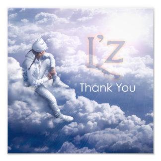 """L'z """"Thank You"""" Pro Photo Print 12"""" x 12"""", (Satin)"""