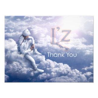 """L'z-""""Thank You"""" Pro Photo Print 16"""" x 12"""", (Satin)"""