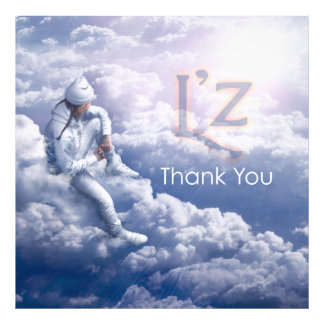 "L'z ""Thank You"" Pro Photo Print 36"" x 36"", (Satin)"