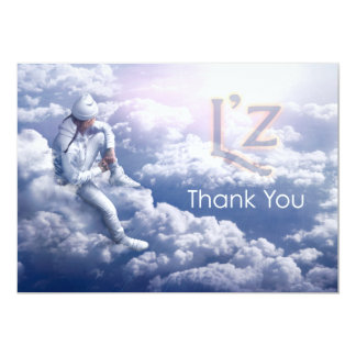 "L'z ""Thank You"" Signature: Matte 5""x7"" w/envelopes 13 Cm X 18 Cm Invitation Card"