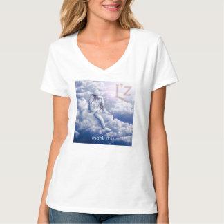 "L'z ""Thank You"" Women's V-Neck T-Shirt"