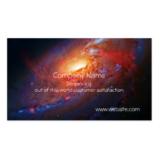 M106 Spiral Galaxy, Canes Venatici Pack Of Standard Business Cards